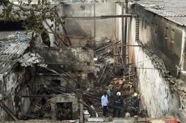 Kebakaran Landa Sebuah Toko di India, 12 Tewas