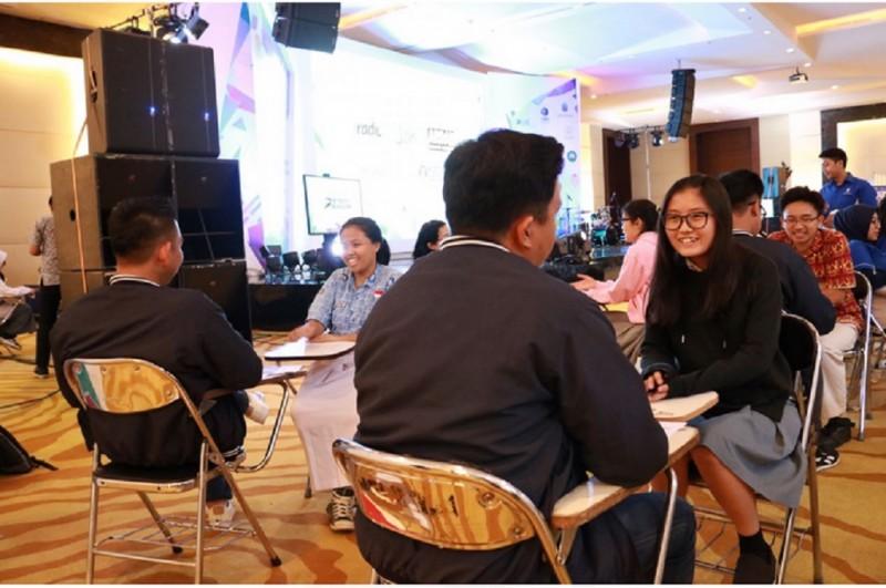 Suasana proses seleksi peserta OSC 2017 di Kuningan City, Jakarta, Senin, 18 Desember 2017, Medcom.id - Husen Miftahudin