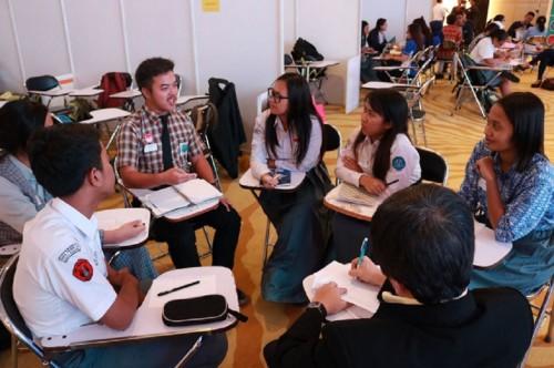 Suasana proses seleksi peserta OSC 2017 di Mal Kuningan City