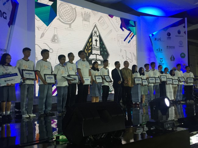 Pemenang OSC with Avitex 2017. Foto: Medcom.id/Gervin N. Purba