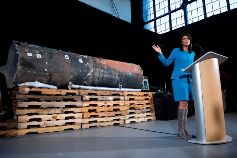 Dubes AS untuk PBB Nikki Haley bersuara lantang terkait Sidang Majelis Umum PBB terkait Yerusalem (Foto: AFP).