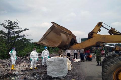 Limbah Medis di Cirebon Dimusnahkan di Bogor