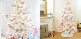Rayakan Natal dengan Pohon Putih