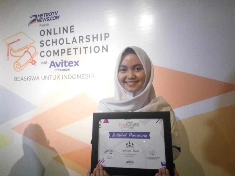 Gita Safitri, pemenang OSC with Avitex 2017 (Foto:Anggi Tondi Martaon)
