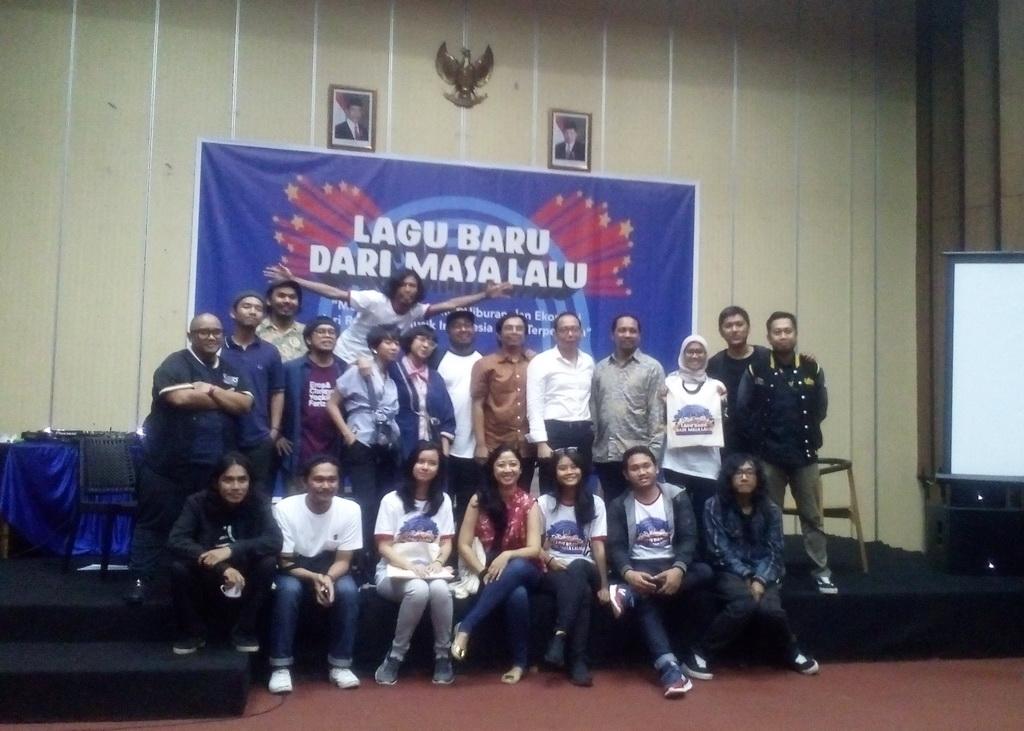 Irama Nusantara bersama Bekraf dan RRI (Foto: medcom/cecylia)