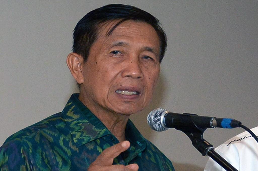 Gubernur Bali Made Mangku Pastika -- ANT/Wira Suryantala