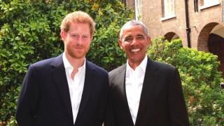 Pangeran Harry Tak Undang Barack Obama ke Pernikahannya?