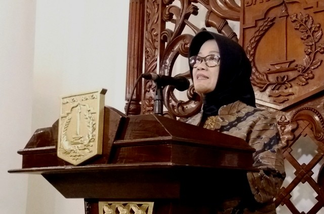 Kepala Bappeda DKI Jakarta, Tuty Kusumawati. Foto: MTVN/Fiona Yosefina.