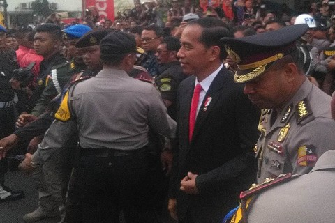 Presiden Jokowi Soroti Sungai Citarum yang Terkontaminasi