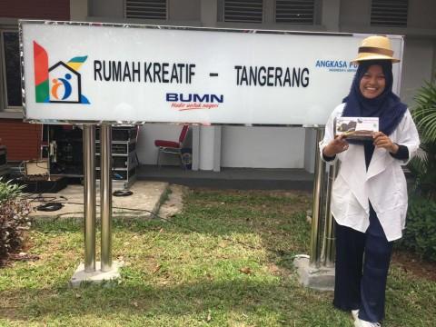 Belajar hingga Berbagi Ilmu di Rumah Kreatif BUMN Tangerang