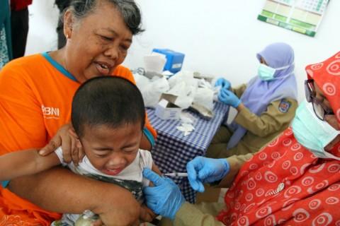 Dinkes DKI Imbau Pentingnya Imunisasi Sejak Dini