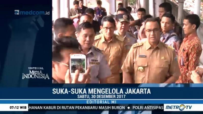 Suka-Suka Mengelola Jakarta