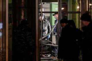Tersangka Pengeboman Supermarket St Petersburg Ditangkap