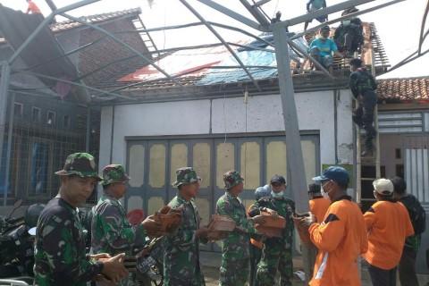 Kerugian Akibat Puting Beliung di Pemalang Capai Rp2,4 Miliar