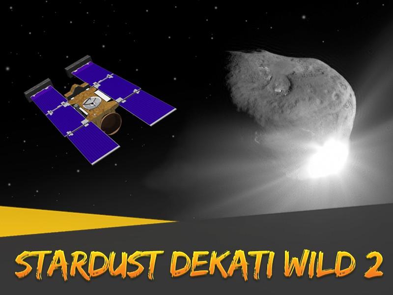 Hari Ini: Stardust Dekati Wild 2