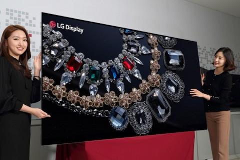 LG Pamer Layar OLED Resolusi 8K Pertama di Dunia