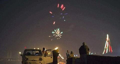 25 Warga Irak Terluka Akibat Ledakan Kembang Api