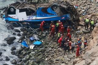 Korban Tewas Kecelakaan Bus Peru Capai 48 Orang