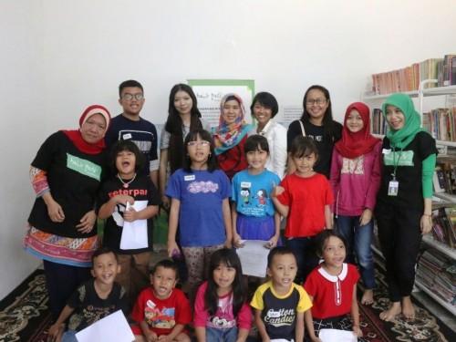 Kegiatan Bulir Padi untuk Gerakan Anak Cinta Baca. (Foto: