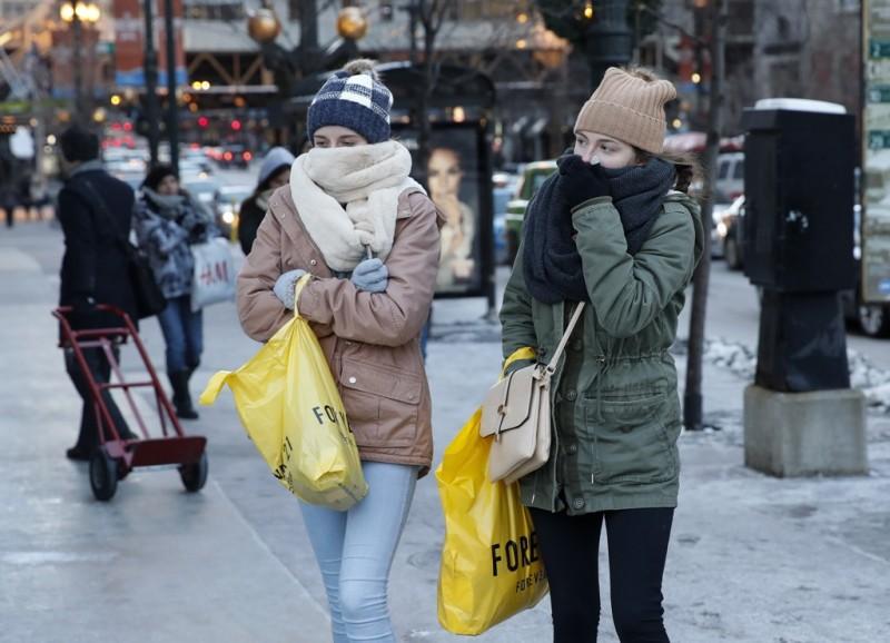 Cuaca dingin di Amerika Serikat picu kematian sembilan warga (Foto: AFP).