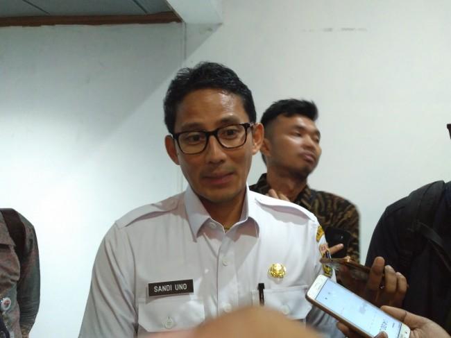 Wakil Gubernur DKI Jakarta Sandiaga Uno. Foto: MTVN/Nur Azizah