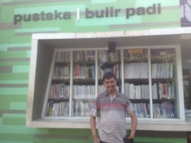 Naufal, dari Pedagang Jadi Pejuang Literasi
