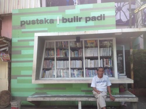 Pustaka Bulir Padi di Palmerah, Jakarta Barat. (Foto:
