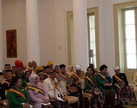 Presiden Audiensi dengan Raja dan Sultan se-Indonesia