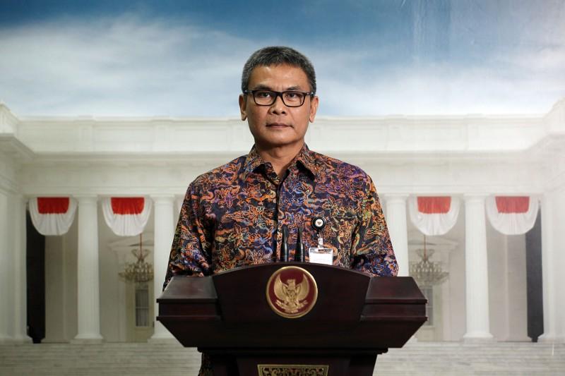 Juru bicara Kepresidenan Johan Budi/MI/Panca Syurkani
