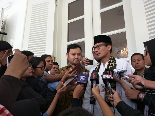 Wakil Gubernur DKI Jakarta Sandiaga Uno. Foto: Medcom.id/LB Ciputri Hutabarat.