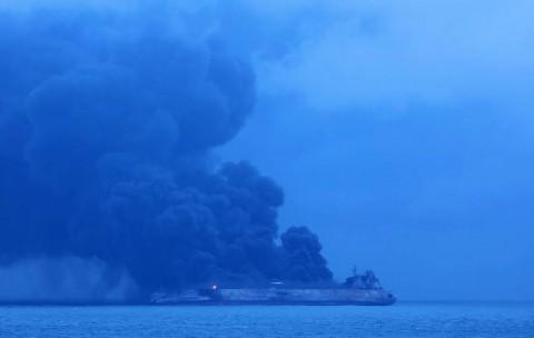 AS Bantu Cari 32 ABK Tanker Iran di Tiongkok