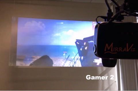 Layar Baru MultiView Screen Bawa Dua Gamer Lihat Perspektif Berbeda Bersamaan