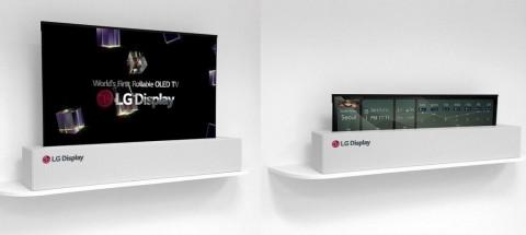 LG Ciptakan TV OLED 65 Inci yang Bisa Digulung