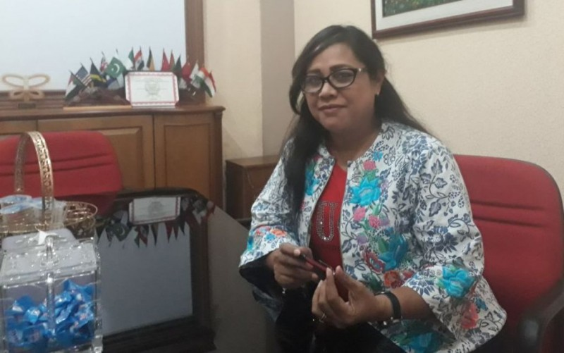 Josefina Agatha Syukur, pengacara Ahok. Foto: Medcom.id/M Sholahadhin Azhar