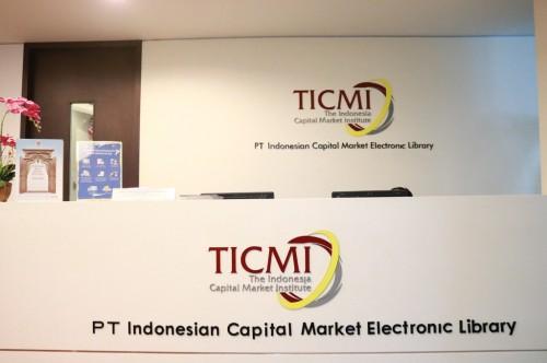 TICMI, perpustakaan di Gedung BEI, Senin, 8 Januari 2018,