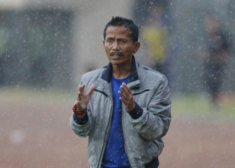Pelatih PSMS Djajang Nurdjaman (Foto: Antara)