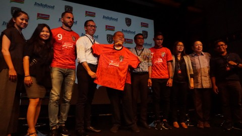 Bali United Perkenalkan Sponsor untuk Arungi <i>Play-off</i> Liga Champions Asia