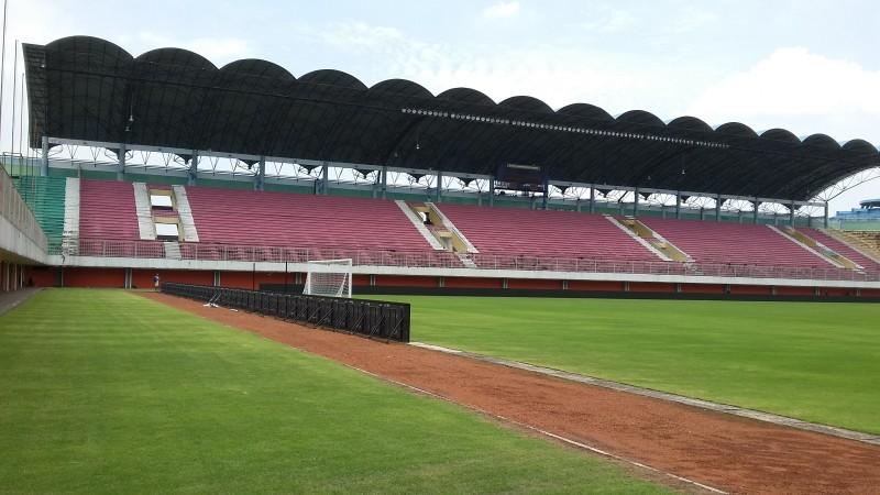 Penampakan Stadion Maguwoharjo jelang laga Indonesia Selection vs Islandia (Foto: medcom.id/Ahmad Mustaqim)
