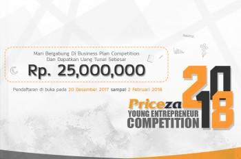 Priceza Young Entrepreneur Competition 2018, Wujudkan Startup Idaman