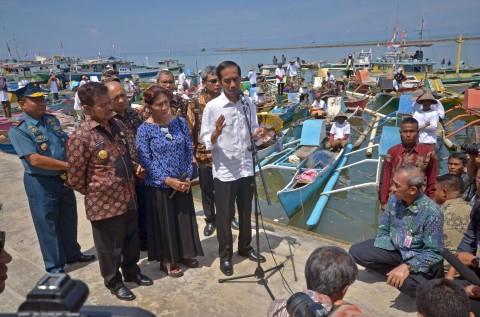 Jokowi Ingin Susi Fokus ke Industri Pengolahan Ikan