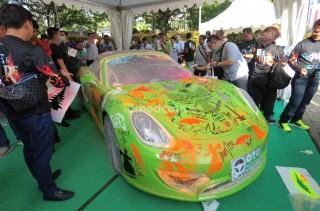 Porsche Boxster Ini jadi Kanvas Kreasi Indonesia Mini