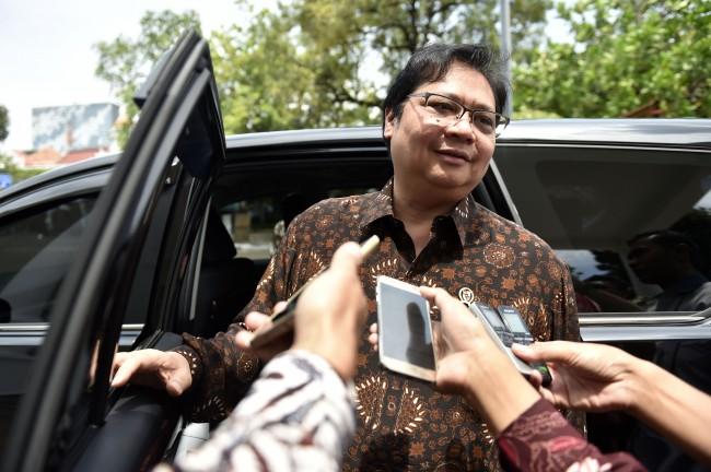 Menteri Perindustrian Airlangga Hartarto (Foto: Antara/Puspa Perwitasari)