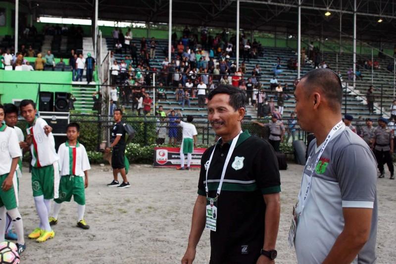 Pelatih PSMS Medan Djadjang Nurdjaman. (Foto: Antara/Septianda Perdana)
