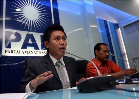 Ketua DPW PAN DKI Jakarta Eko Hendro Purnomo. Foto: MI/M Irfan