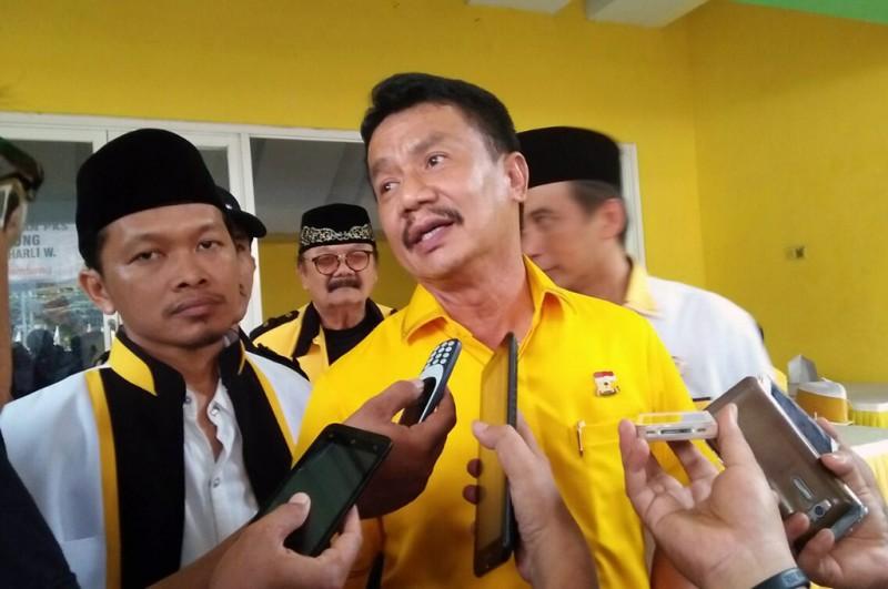 Ketua DPD Golkar Jatim Nyono Suharli Wihandoko -- Medcom.id/Nurul Hidayat