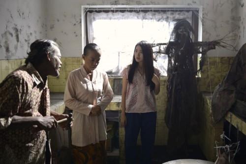 Situasi syuting film Nini Thowok (TBS Pictures)