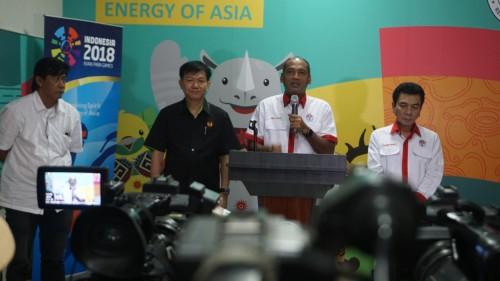 Foto: Mulyana (dua dari kanan) Kepala Deputi IV Bidang
