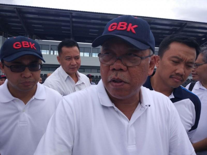 Menteri Pekerjaan Umum dan Perumahan Rakyat (PUPR) Basuki Hadimuljono. (FOTO: MTVN/Annisa Ayu)