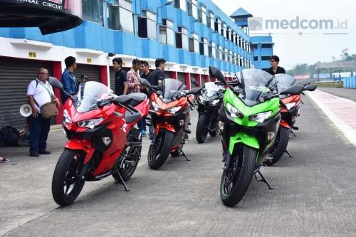 Tiap bulan Ninja 250 diharapkan terjual 1.250 unit. Medcom/ A.