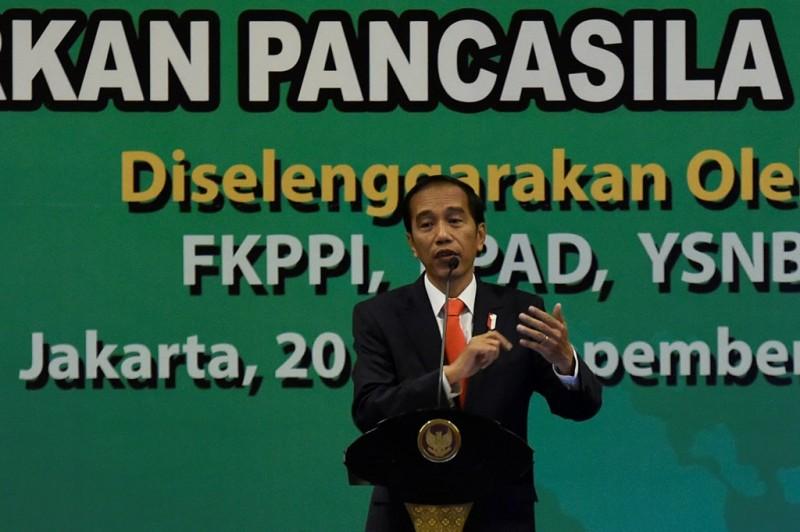 Presiden Joko Widodo. (Foto: Ant/Puspa Perwitasari)